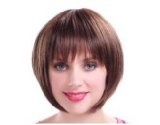 Fashion styles woman short Brown wig beautiful bobo shape - Chinese New Year Deal Reviews - Fashion styles woman short Brown wig beautiful bobo shape - Chinese New Year Deal    Feels and looks similar to true-to-life human hairComfortable enough to w
