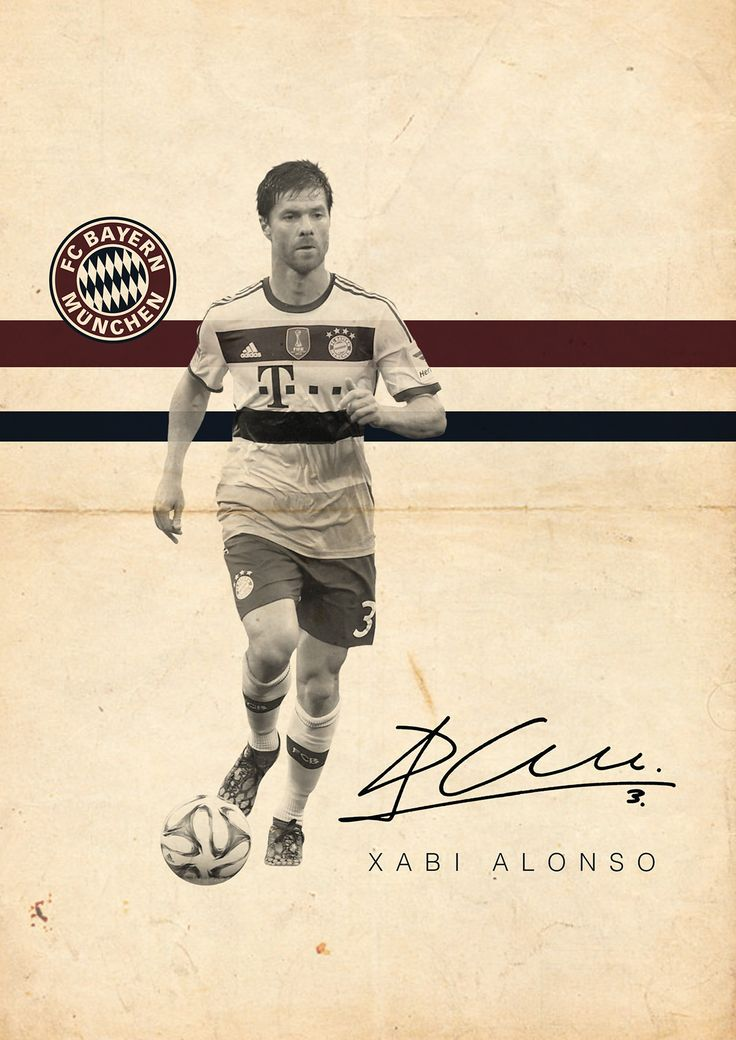 The Signature Series on Behance - Xabi Alonso