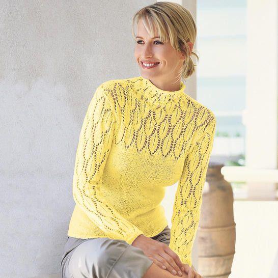 AMW yellow sweater - Renee - Lei Yu Xuan - Knitted