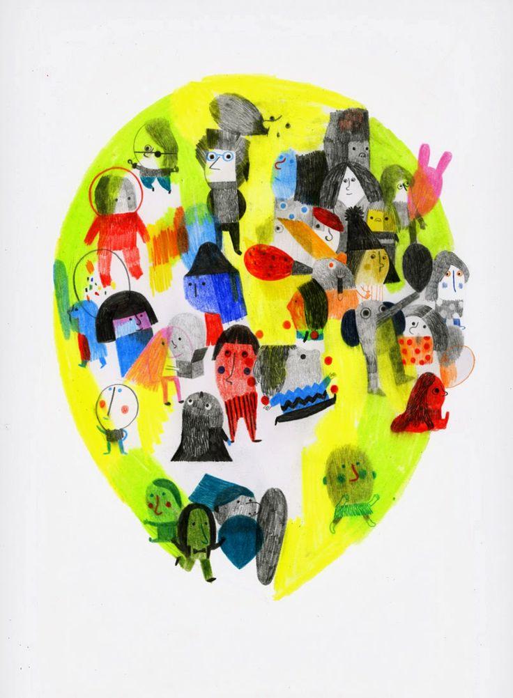 l'uomo dei palloncini-  Simone Rea sketch