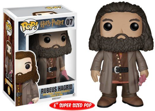 "Amazon.com: Funko 5864 POP Movies: Harry Potter - Rubeus Hagrid 6 "" Action Figure: Toys & Games"