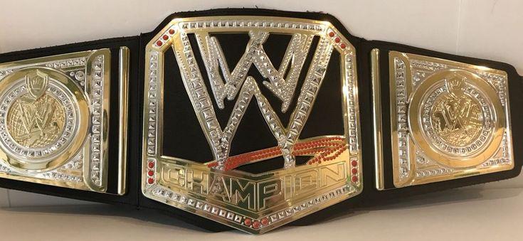 WWE Champion Belt Wrestling Championship Mattel Replica Kids Toy 2012 Black Gold   Sports Mem, Cards & Fan Shop, Fan Apparel & Souvenirs, Wrestling   eBay!