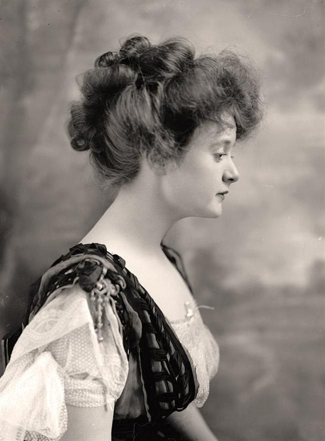 Billie Burke, actress.