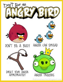 newest printables for the angry bird/anger management lessons for kids
