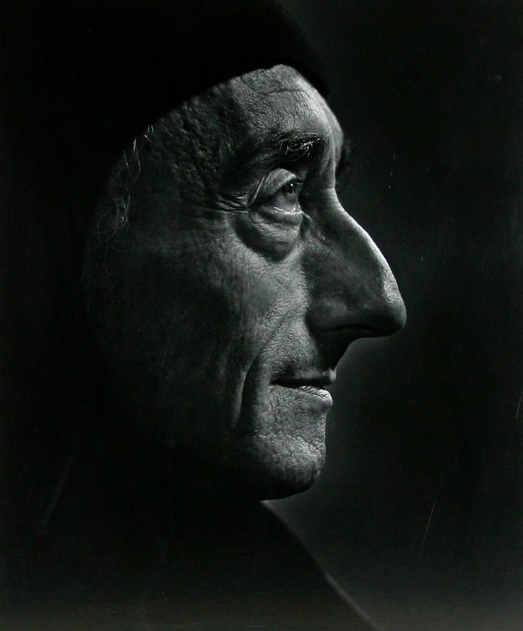 Jacques Couseteau, 1972; photo by Yousuf Karsh