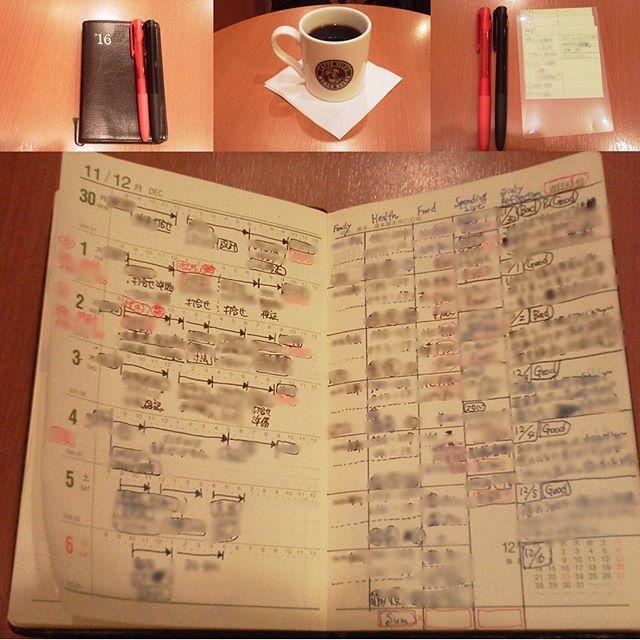49週目のおっちゃん手帳 人前でも使えるように シンプルに運用中です。 大きさといい、見やすさといい だんだんと馴染んできて、 手放せなくなってきています。 #シグノ #手帳 #能率手帳 #能率手帳ゴールド #能率手帳gold #おっちゃん手帳