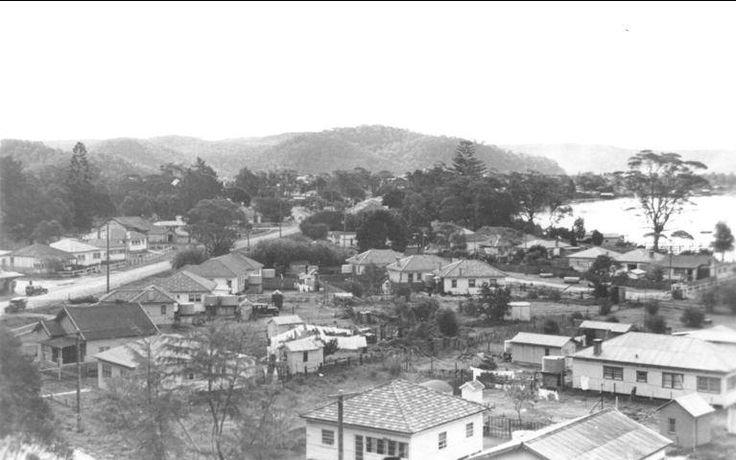 Blackwall Rd , Woy Woy 1930's