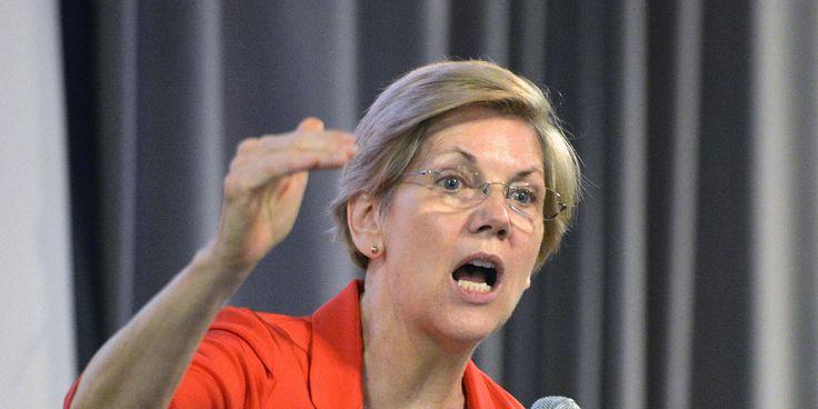 Sen. Elizabeth Warren Calls For Investigation Of NY Federal Reserve Over Secret Tapes