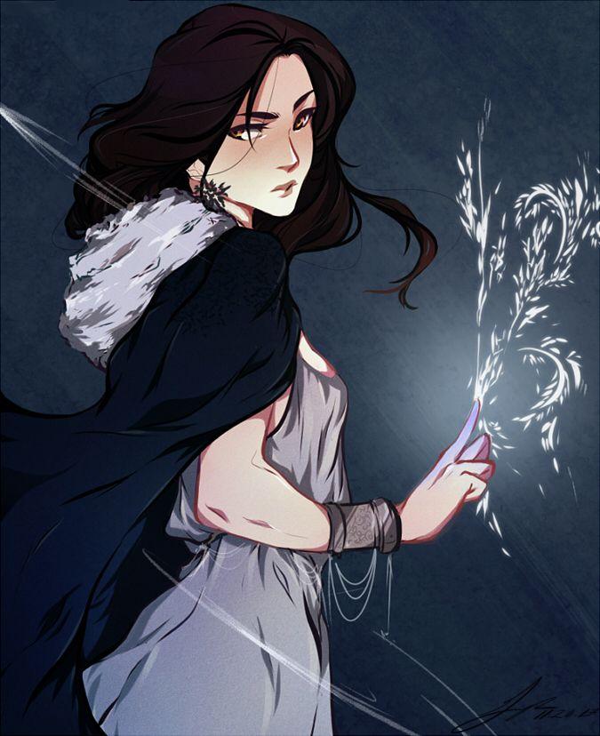 Amren [My Emira! drawing (c) emirra/ thecharmm.tumblr.com]