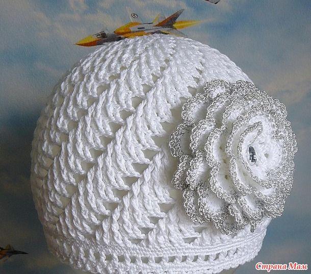 *Летние шапочки для девочек