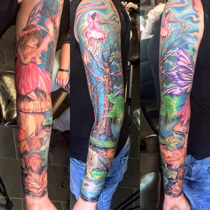 1000 Ideas About Angel Tattoo Designs On Pinterest: 1000+ Ideas About Fairy Sleeve Tattoo On Pinterest