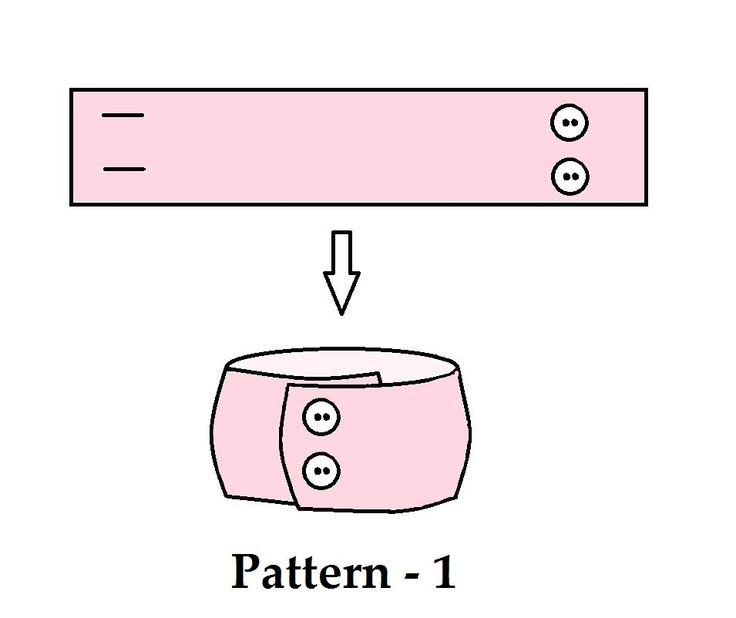 Picture of Patterns/ Templates neck warmers