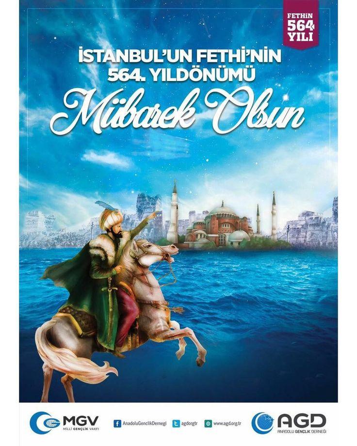 İstanbul'un Fethi'nin 564. Yıldönümü Mübarek Olsun. #29Mayıs1453 #AGD #MGV #AnadoluGençlikDerneği #MilliGençlikVakfı #MilliGörüş #MilliGazete #MilliGazeteKampüste #NecmettinErbakan #Hanımlar #HanımlarKomisyonu #AGDUniHanimlar #İslam #İlim #eğitim #akademi #4Fakülte #akademi4fakülte #Universite #University #Genç #Gençlik #Türkiye #İstanbul #TakipteKalın #istanbulunfethi #istanbulunfethikutluolsun http://turkrazzi.com/ipost/1525604924971565806/?code=BUsCZikhELu