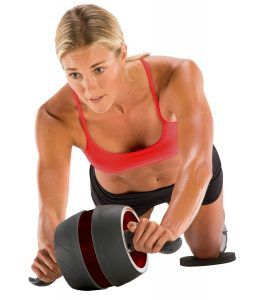 Best Home Ab Machine no. 4. Perfect Fitness Ab Carver Pro. An ab wheel, in our view, is vastly superior to just doing reps on a mat; it removes the possibility of doing crunches or situps incorrectly and not gaining any real benefit.