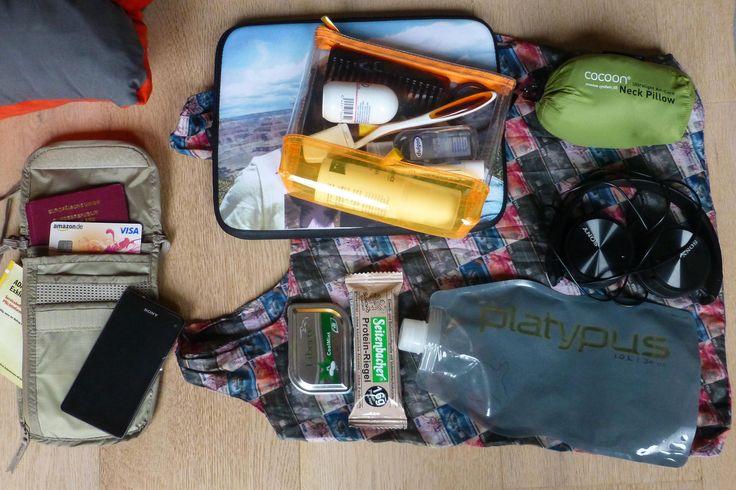 DIE Checkliste für Dein Handgepäck