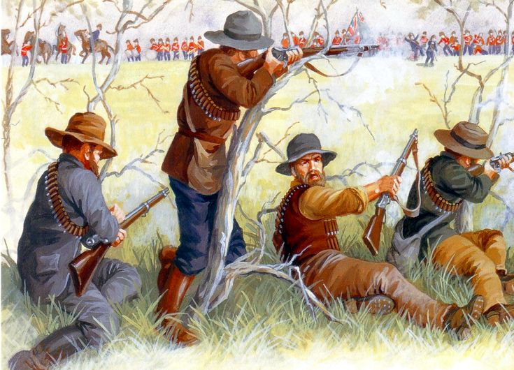 Boer ambushing the British