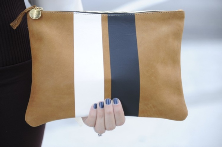 Love this simple accessory!  It would go with anything!  What would you pair it with? #simple #striped #socialblissstyle