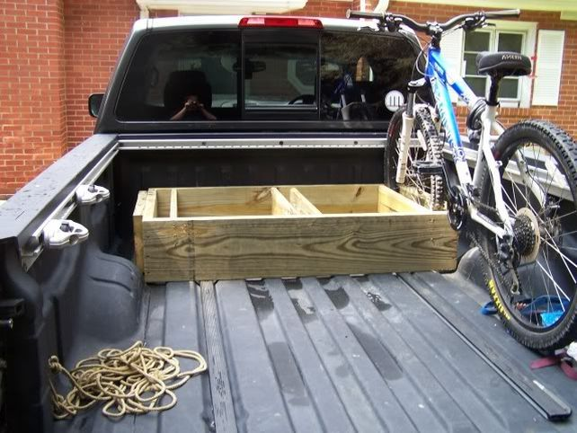 bike rack for truck bed diy