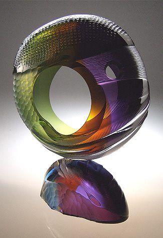 Leon Applebaum. #artglass #glassart #artwork http://www.pinterest.com/TheHitman14/art-glasscrystal-%2B/