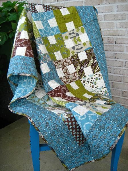 interesting pattern: Sewing, Baby Quilt