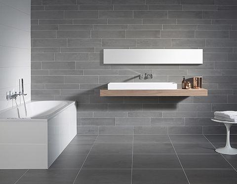 Meer dan 1000 idee n over douche tegels op pinterest badkamer badkamer douches en douche - Badkamer tegel imitatie hout ...