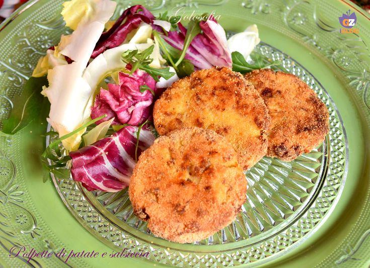 Polpette di patate e salsiccia, morbide e squisite, semplicissime da realizzare! un piatto furbo ed economico, che conquisterà tutti con la sua bontà.
