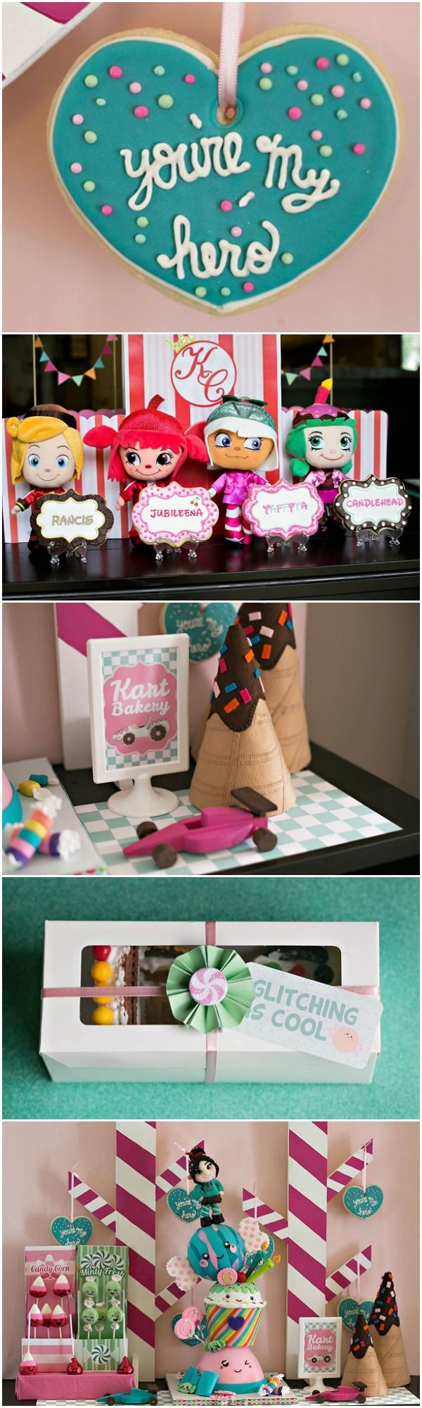 "Wreck-It Ralph ""Sugar Rush"" Party Ideas"