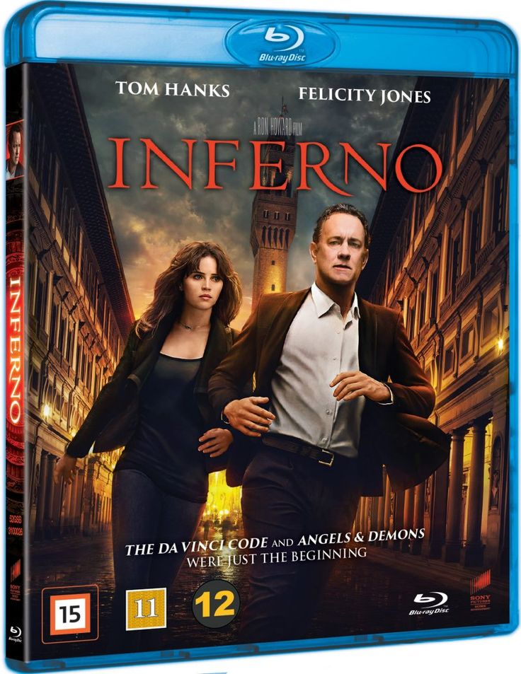 inferno - 2016 dan brown - Blu-Ray