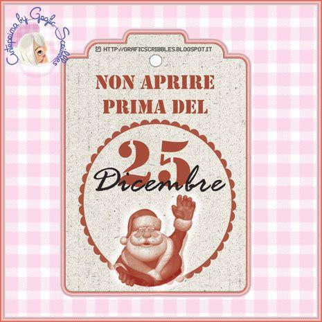 Chiudi pacco Natalizio stampabile Free  http://graficscribbles.blogspot.it/2013/12/biglietti-chiudipacco-Natale-stampabili.html