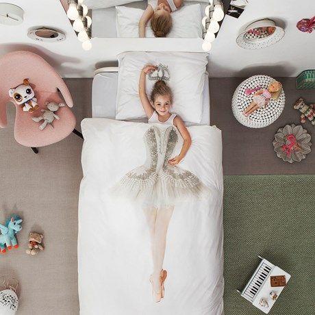 Bedårende søtt sengesett til familiens prima ballerina!