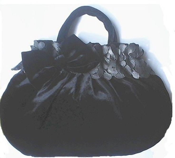 borsa borsetta nera a mano con pizzo e fiocco dark rockabilly idea regalo goth  | Abbigliamento e accessori, Donna: borse | eBay!