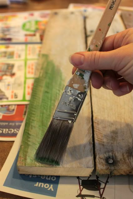 painting pallets