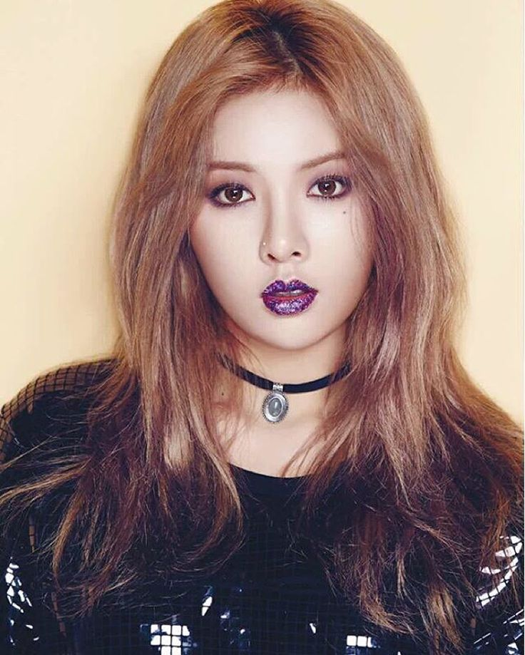 E Breast Implants HyunA dishes who the b...