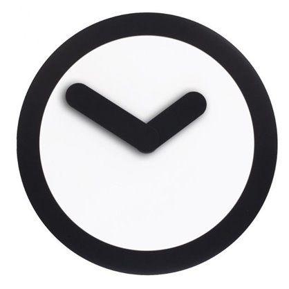 Zegar Focus czarny, Nextime