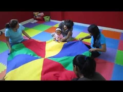 estimulacion temprana cancion el paracaidas - YouTube