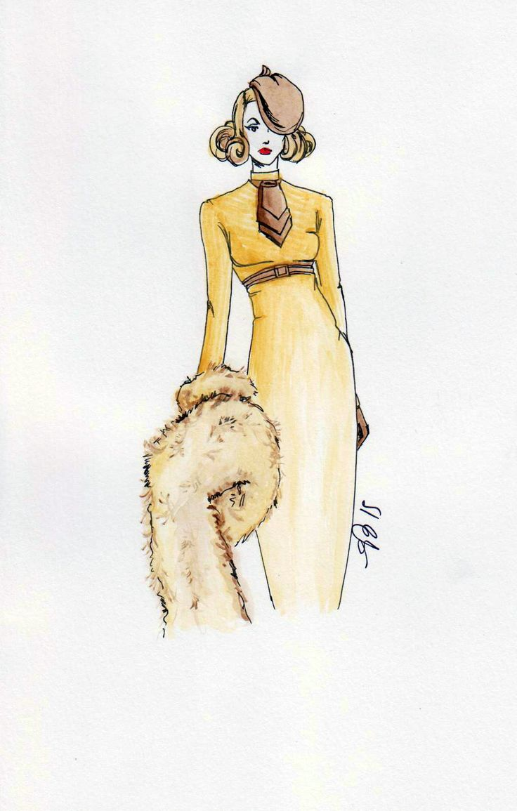 #fashionillustration #casabignami #oldhollywood