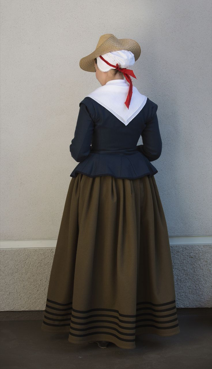 """https://flic.kr/p/VuMNRV   Crowd_17th Century Dutch3   Based on a young girl in the crowd of """"Festival of our Lady of the woods"""" - 1616 by Denis van Alsloot (1560-1628)   Dress Diary at: wastedweeds.blogspot.com"""