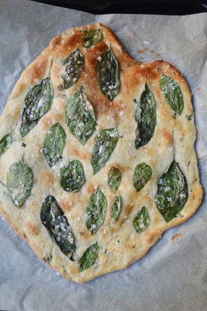 basil flatbread