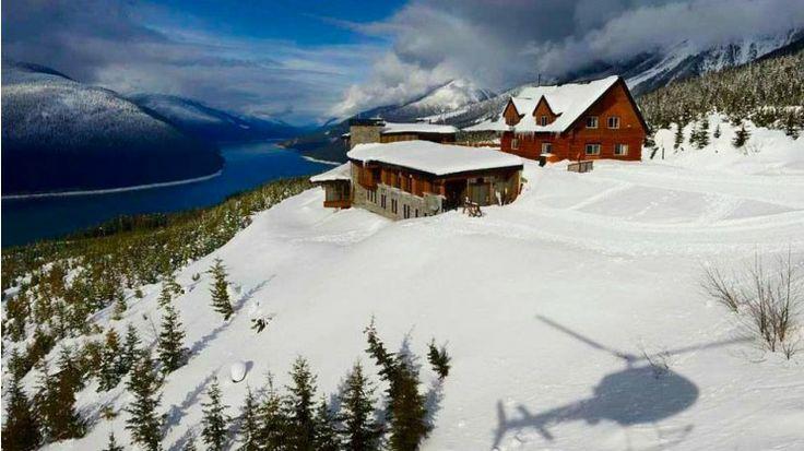 Mica heliskiing - British Columbia - Lodge
