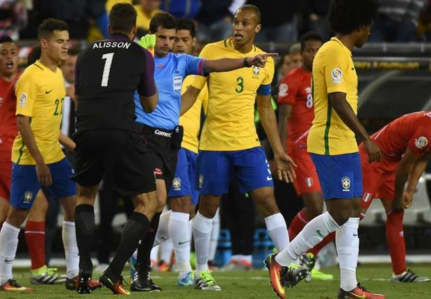 'Not everything is s' - Brazil players refuse to blame referee for Copa America elimination
