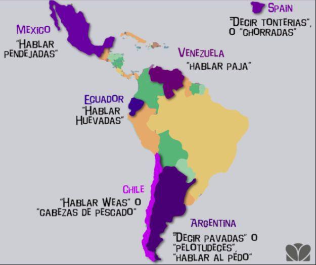 Da igual que aprendas español, en cuanto cambies de un país a otro no vas a entender la mitad de las cosas. ¡Son veinte idiomas diferentes en uno! | 23 pruebas de que el español es el idioma más extraño del mundo