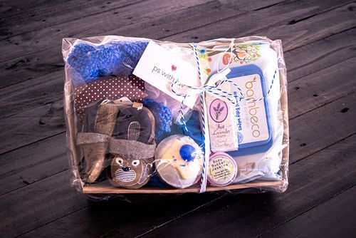 It's organic and practical, filled with little goodies perfect to welcome baby into the world!