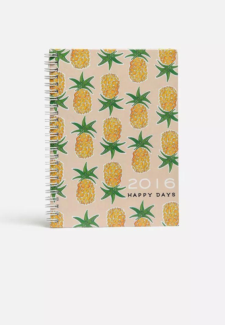 Happy Days 2016 Diary