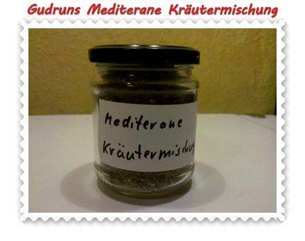 Rezept: Gewürze: Mediterrane Kräutermischung