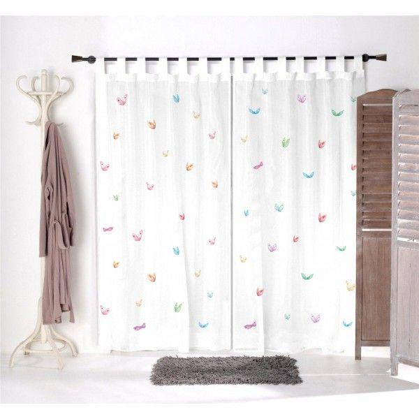 21 best images about rideaux et voilages on pinterest euro en place and animaux - Voilage pour chambre ...