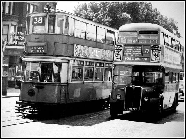 172 bus New Cross Gate 1951.