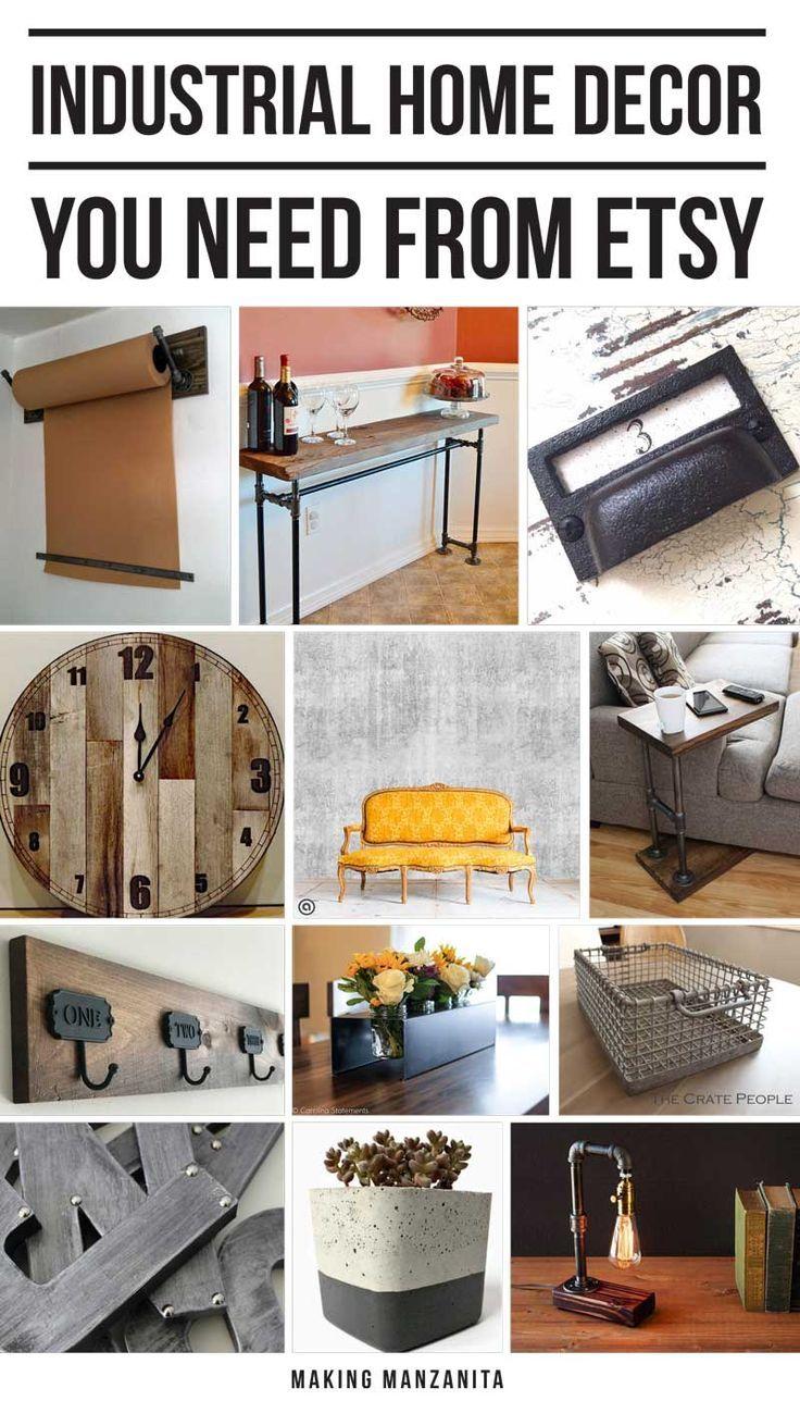 Industrial Home Decor Living Room: 696 Best Boho Farmhouse Decor Images On Pinterest