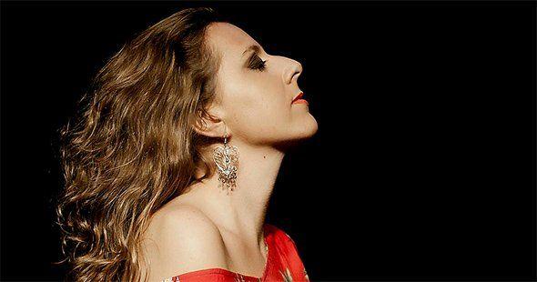 El cante flamenco de Gema Caballero en la sala García Lorca de Madrid. La noticia en aireflamenco.com
