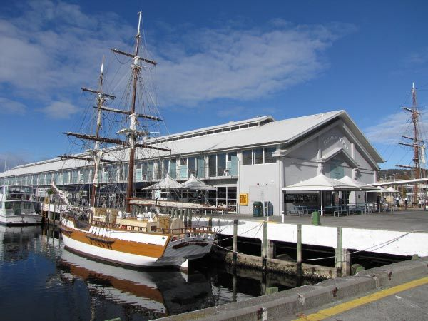 Things to Do in Tasmania with Kids: Lady Nelson sailing ship. Article and photo for www.think-tasmania.com