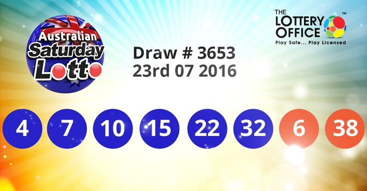 Australian Saturday Lotto winning numbers results are here. Next Jackpot: $20 million #lotto #lottery #loteria #LotteryResults #LotteryOffice